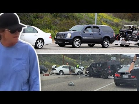 Bruce Jenner Crash – Cops Say His Head Was Up His Ass