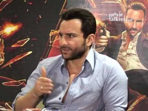 Saif Ali Khan Talks About His Upcoming Film 'Agent Vinod'