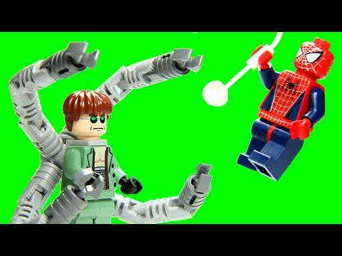 LEGO 4854 Doc Ock's Bank Robbery LEGO Spider-Man 2 Marvel Super Heroes Review