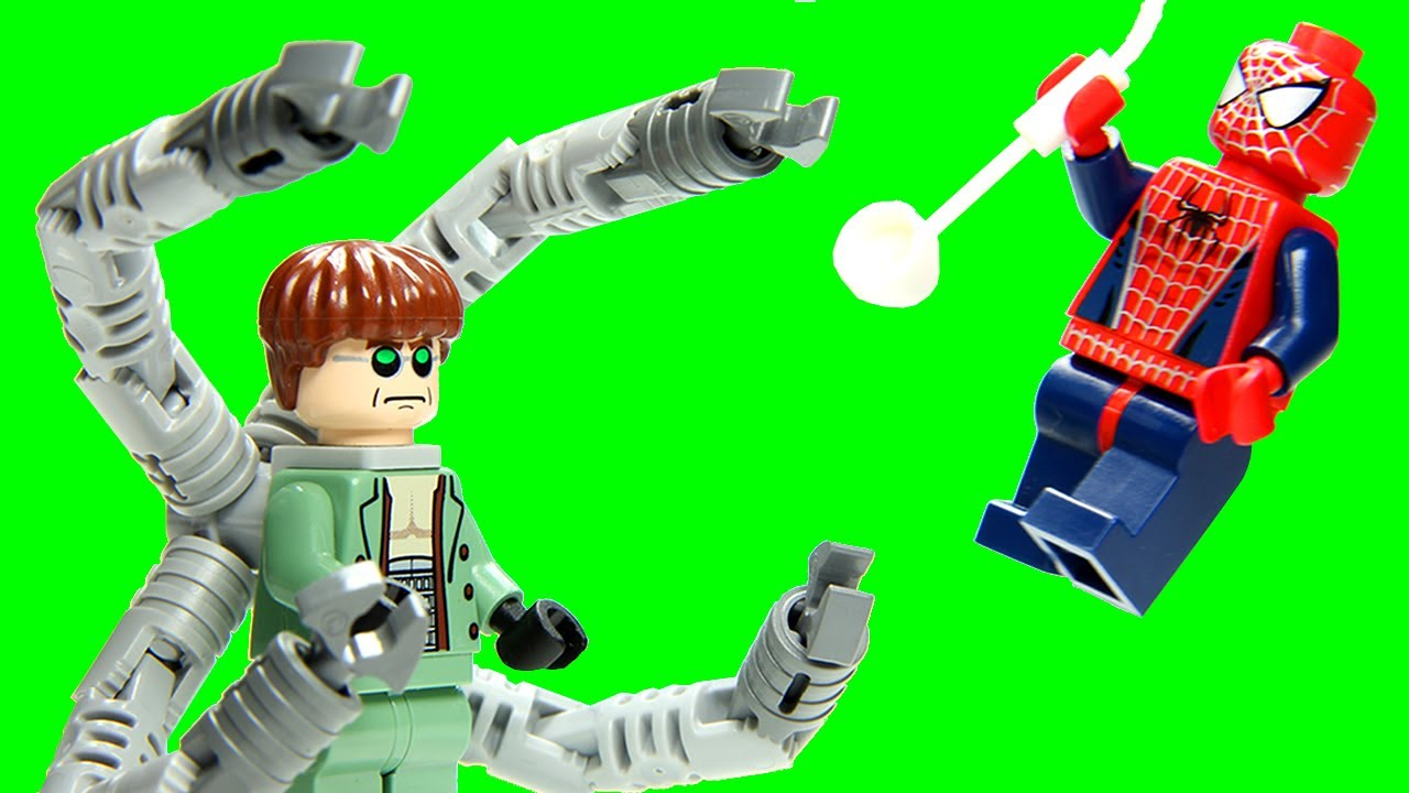 Lego 4854 doc ock 39 s bank robbery lego spider man 2 marvel super heroes review youtube - Lego spiderman 2 ...