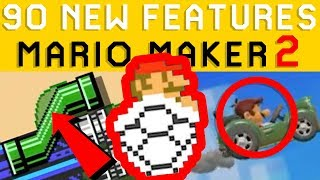 Super Mario Maker 2 ALL New Features YOU MISSED! Nintendo Direct Analysis