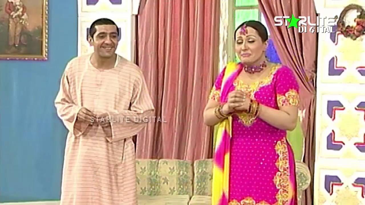 Nargis, Zafri Khan and Sakhawat Naz New Pakistani Stage Drama Full Comedy Clip