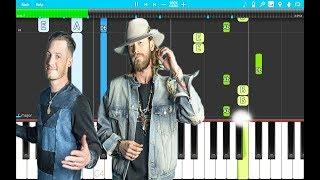 Florida Georgia Line Talk You Out Of It Piano Tutorial Easy Piano