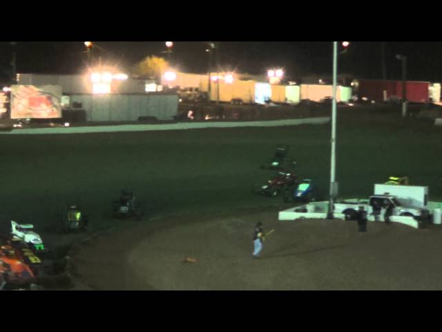 USAC SouthWest Sprint Car Main Event From Canyon Speedway Park May 4thth 2013