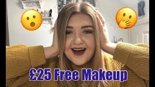 £25 Worth Of Free Makeup | Makeup Revolution & Beauty Bay Haul