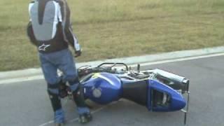 Beginner slow wheelies 1st day