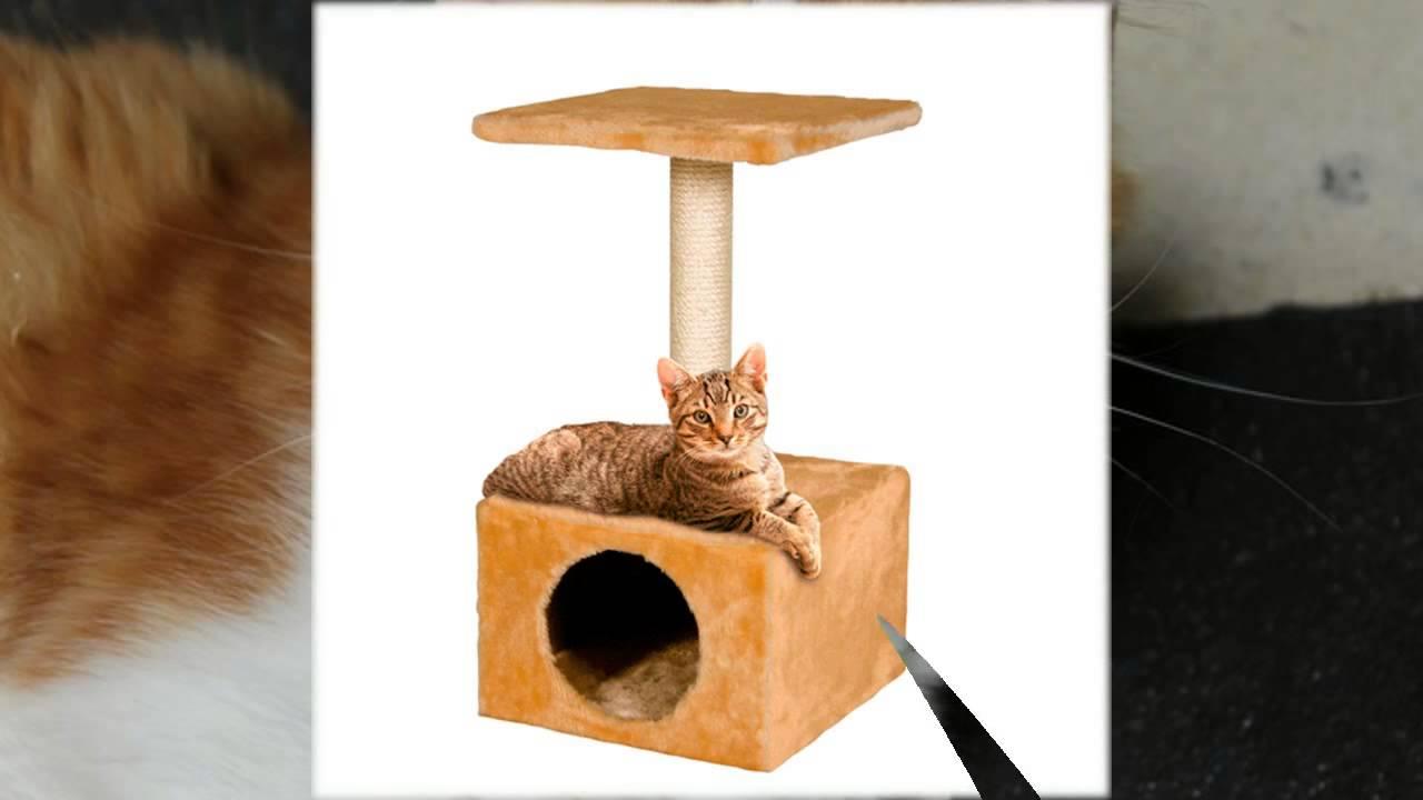 Своими руками когтеточки и домики для кошек