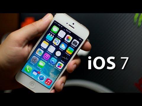iOS 7 - Quick Look On iPhone 5