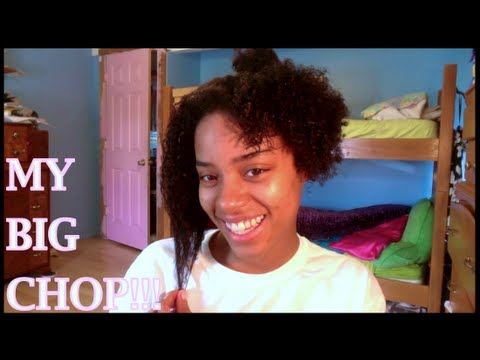 My Natural Hair Journey: Big Chop! - YouTube