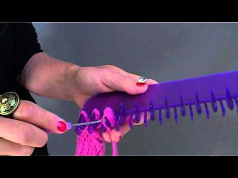 Knit Fun Loom video demo