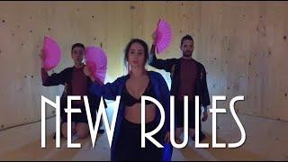 """Dua Lipa """"New Rules"""" Dance Video #duasnewrules"""