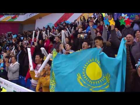 Универсиада Алматы. Видеообзор матча Чехия - Казахстан