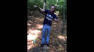 Scott William Winters catches another snake