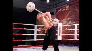 【CMA】An MingZhen: Stone Barbell Performance on TV Show 安明振石擔