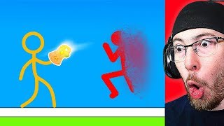 Reacting To THE BEST STICK FIGHT ANIMATION!