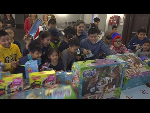 Kids in Need Get Surprised With This Year's Top Toys