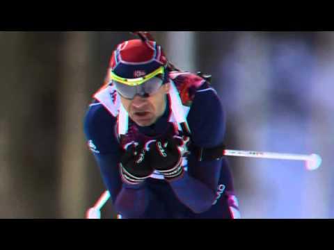 Sochi 2014 Ole Einar Bjoerndalen wins biathlon 10km sprint - 9 February 2014
