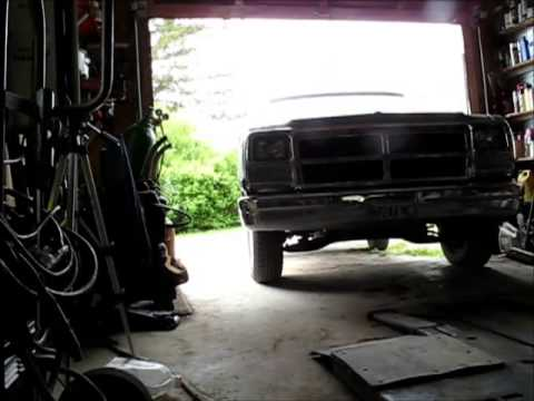 Snow Tire Swap 1991 Dodge Truck