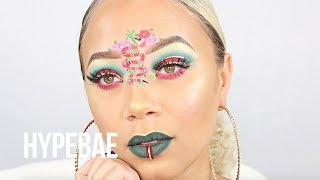 Kaneshia Shana Shows Us Her Gucci Snake Makeup Tutorial
