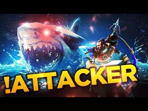!Attacker Kunkka Boss - One Splash = ULTRA KILL - 7.07 Patch - Dota 2