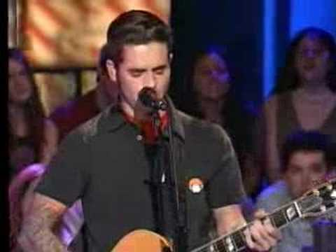 Dashboard Confessional - Swiss army romance  mtv