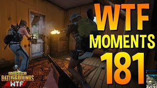 PUBG Funny WTF Moments Highlights Ep 181 (playerunknown's battlegrounds Plays)
