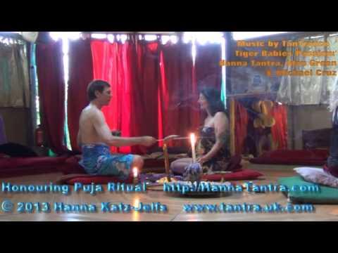 Tantric Lovers Honouring Ritual Puja Hanna Tantra Katz Jelfs