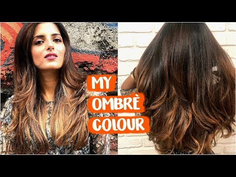 All About My Current OMBRÈ Hair Colour & Hair Treatment For Soft, Healthy, Shiny Hair