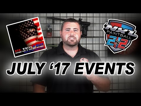 Upcoming Events for July 2017 | Lone Wolf Paintball Michigan