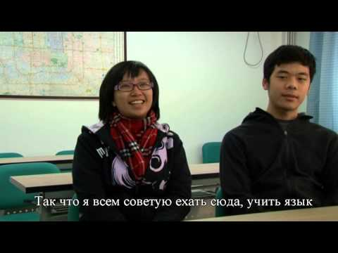 China youth university for political science . foreign students 2010 . Russian subtitle