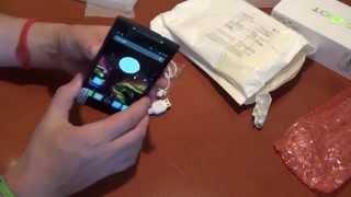 Посылка из Китая с супер крутым телефоном Cubot X6