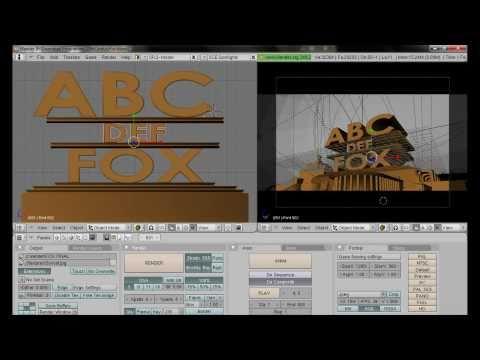 Blender: 20th Century Fox Intro Selbst Erstellen [tutorial] [german] video