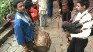 Garhwali Dhol Damau and Masak Baja.By Gautam Chaudhary