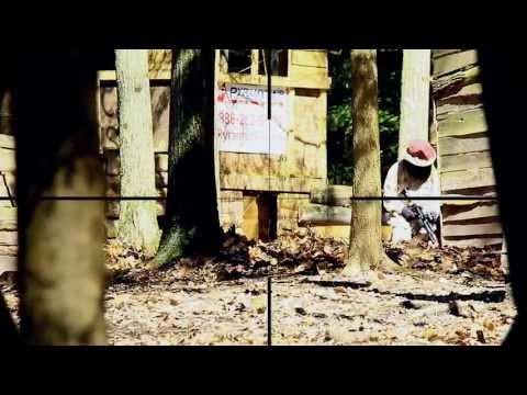 Longest Airsoft Sniper Shot (107 Yards)