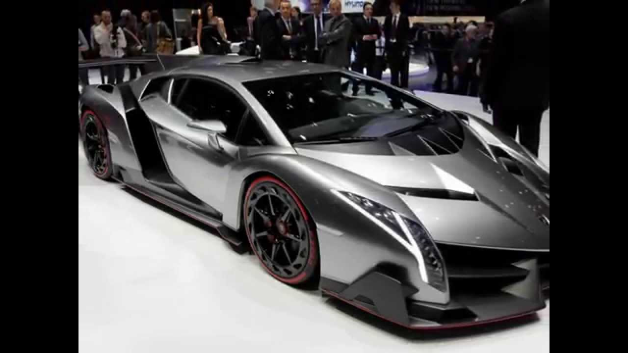 voiture la plus puissante du monde lamborghini veneno 2013 pr sent au salon de gen ve youtube. Black Bedroom Furniture Sets. Home Design Ideas