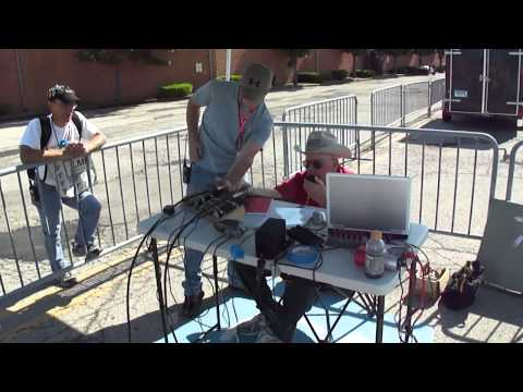 AMSAT at 2012 Dayton Hamvention - working VO-52 on Friday 18 May 2012 @ 1418 UTC