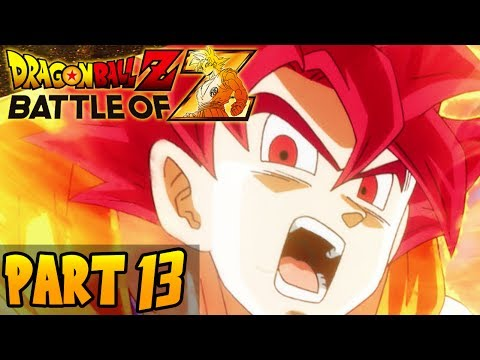 DragonBall Z: Battle of Z - Part 13 - Co-Op: 4 Player-Playthrough