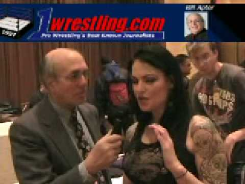 Will Amy lita Dumas Ever Return To The Wwe Ring , Exclusive Interview video