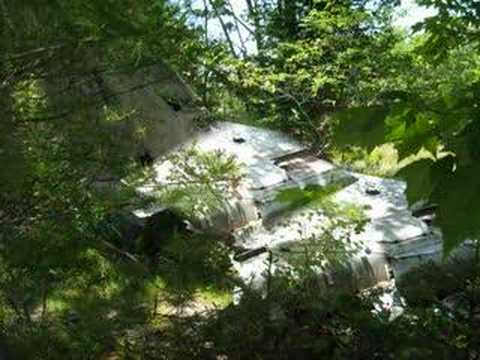 F101-B VooDoo Plane Crash Site Bald Mountain Ellsworth, ME Video