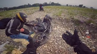 Ohh SHIT he falls on Off Road | Dehradun to Delhi | Ep.05