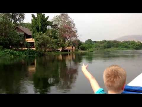 River Quai long tail boat ride – Thailand