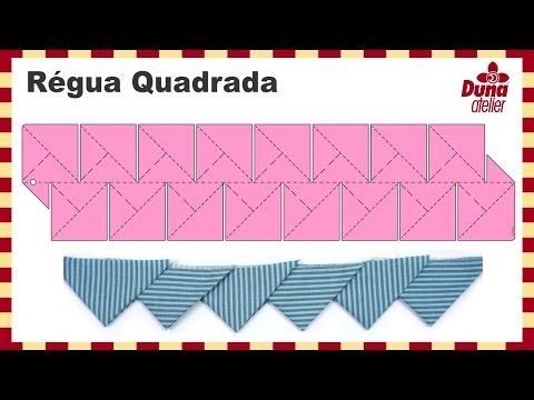 Duna Atelier - Régua Quadrada