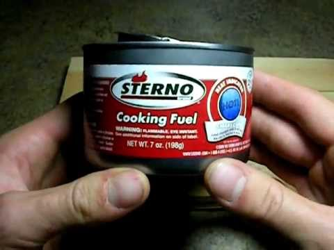Sterno Cooking Fuel: Survival Prep Overview
