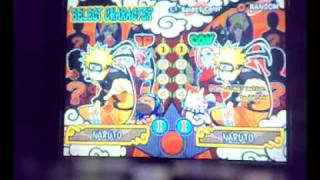 Ultimate Ninja 4 : Naruto Shippuden (PS2) Gameplay