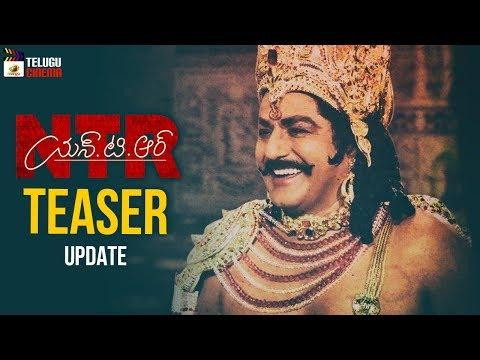 NTR Biopic TEASER update | Kathanayakudu | Mahanayakudu | Balakrishna | Krish | Mango Telugu Cinema