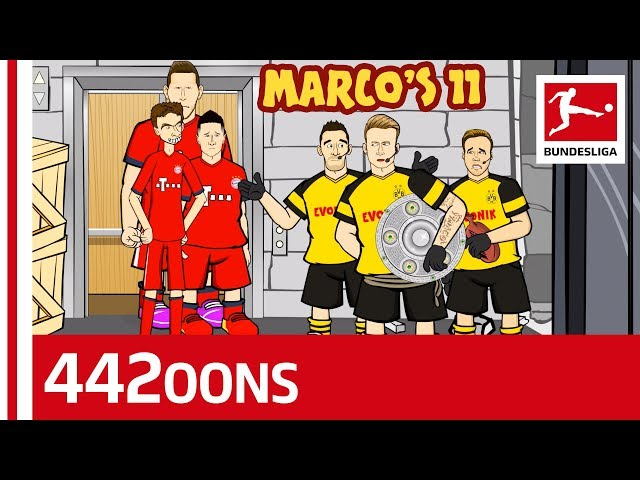 Marco39s Eleven - Bundesliga Title Heist - Powered by 442oons