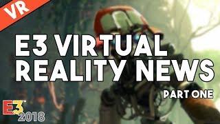 [VR] E3 Virtual Reality News - Stormland, Moss, Tetris Effect & Rec Room: Battle Royale