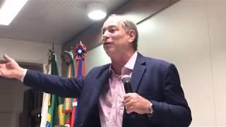 CIRO GOMES (18/10/2017) - UCS - Caixias do Sul