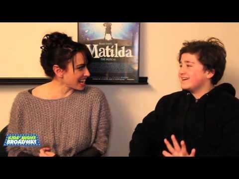 Kids' Night on Broadway Meet MATILDA's Jack Broderick & Lesli Margherita
