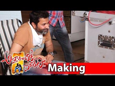Attarintiki Daredi Movie Making || Drama Making Vi...